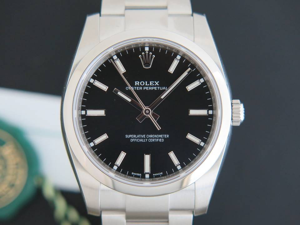 Rolex  Rolex Oyster Perpetual NEW 114200 BLACK