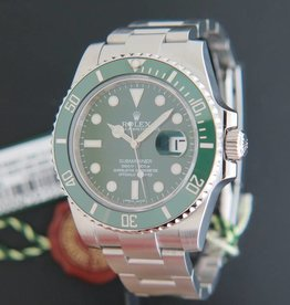 "Rolex  Submariner Date 116610LV ""HULK""  MARK 1"