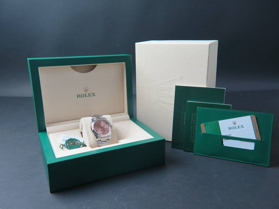 Rolex  Rolex Date Diamonds NEW 115234