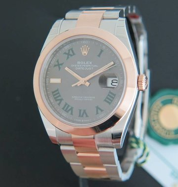 Rolex  Datejust 41 Everosegold/Steel NEW ''Slate Dial'' 126301