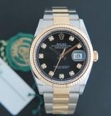 Rolex  Rolex Datejust NEW 126233 Black Diamond dial