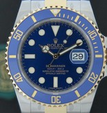 Rolex  Rolex Submariner Date Gold/Steel Blue Dial NEW 116613LB