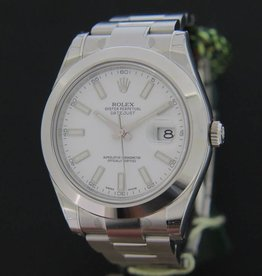 Rolex  Datejust II NEW  116300 White Dial