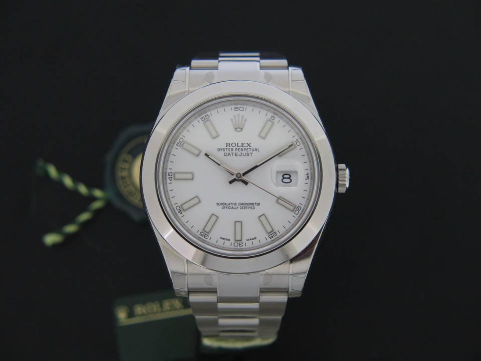 Rolex  Rolex Datejust II NEW  116300 White Dial