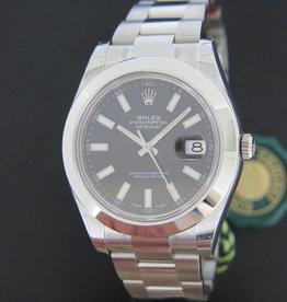 Rolex  Datejust II NEW 116300  Black Dial
