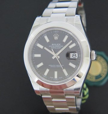 Rolex  Datejust II NEW 116300  Black Dial