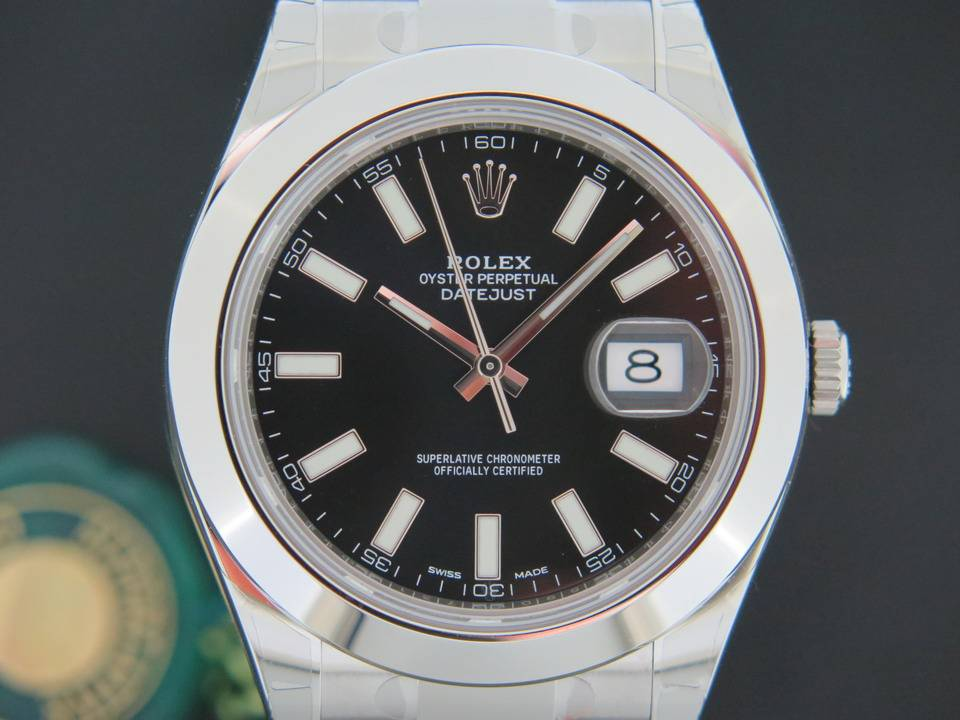Rolex  Rolex Datejust II NEW 116300  Black Dial