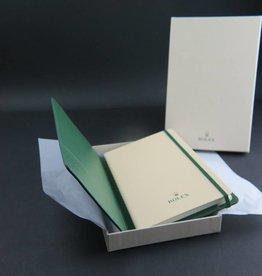 Rolex  Note pad leergebonden