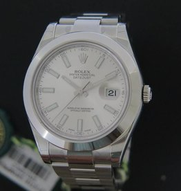 Rolex  Datejust II NEW 116300 Silver Dial