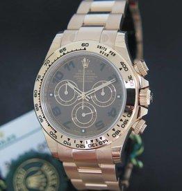 Rolex  Daytona Everose NEW  116505 Choco Dial