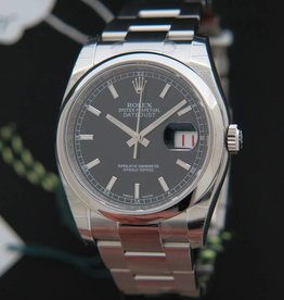 Rolex  Datejust NEW 116200 Black Dial