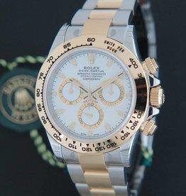 Rolex  Daytona Gold/Steel  NEW 116503 White Dial