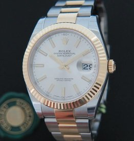Rolex  Datejust 41 Gold/Steel NEW 126333 Silver Dial