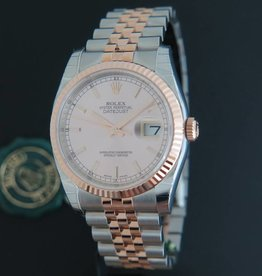 Rolex  Datejust Everosegold/Steel NEW 116231  Pink Dial