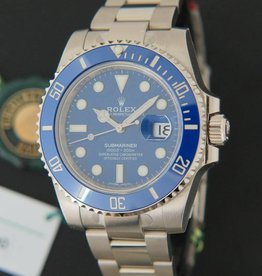 Rolex  Submariner Date White Gold NEW 116619LB