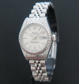 Rolex  Lady-Date Silver Dial 79240