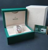 Rolex  Rolex Datejust Gold/Steel Silver Diamond dial 178273