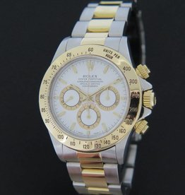 Rolex  Daytona Gold/Steel White Dial 16523