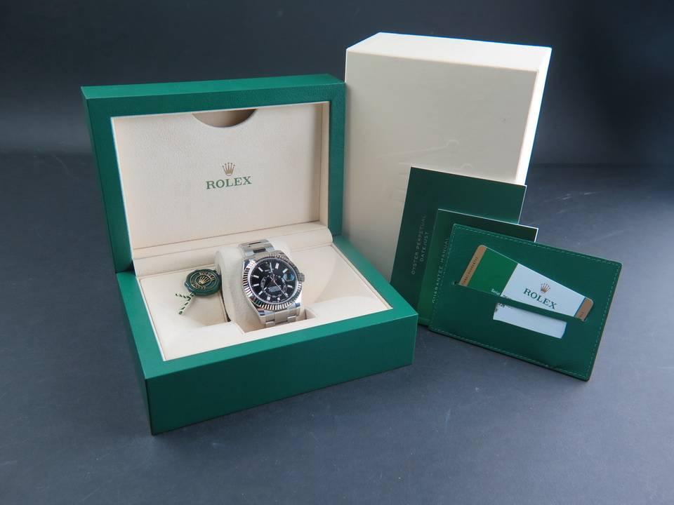 Rolex  Rolex Sky-Dweller 326934 Black Dial NEW