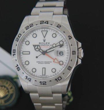 Rolex  Explorer II White Dial NEW 216570