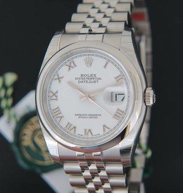Rolex  Datejust 116200  White Roman NEW