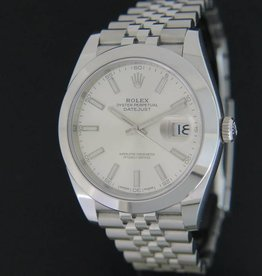 Rolex  Datejust 41 Silver Dial jubilee 126300
