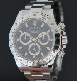 Rolex  Daytona Black Dial 116520  G-Serial