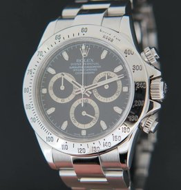 Rolex  Daytona Black Dial 116520  D-Serial