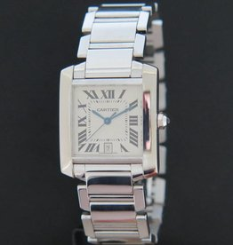 Cartier Tank Francaise White Gold W500153