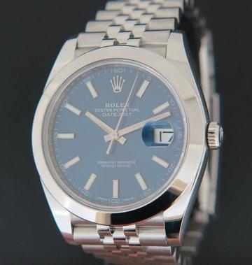 Rolex  Datejust 41 Blue Dial  126300