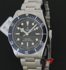 Tudor Heritage Black Bay Blue NEW 79230B