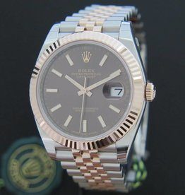 Rolex  Datejust 41 Everosegold/Steel NEW 126331