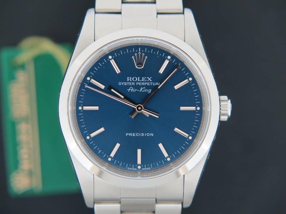 Rolex  Rolex Air-King Blue Dial 14000