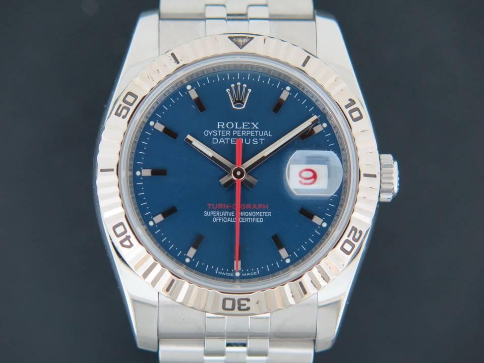 Rolex  Rolex Datejust Turn-O-Graph  116264 Blue Dial