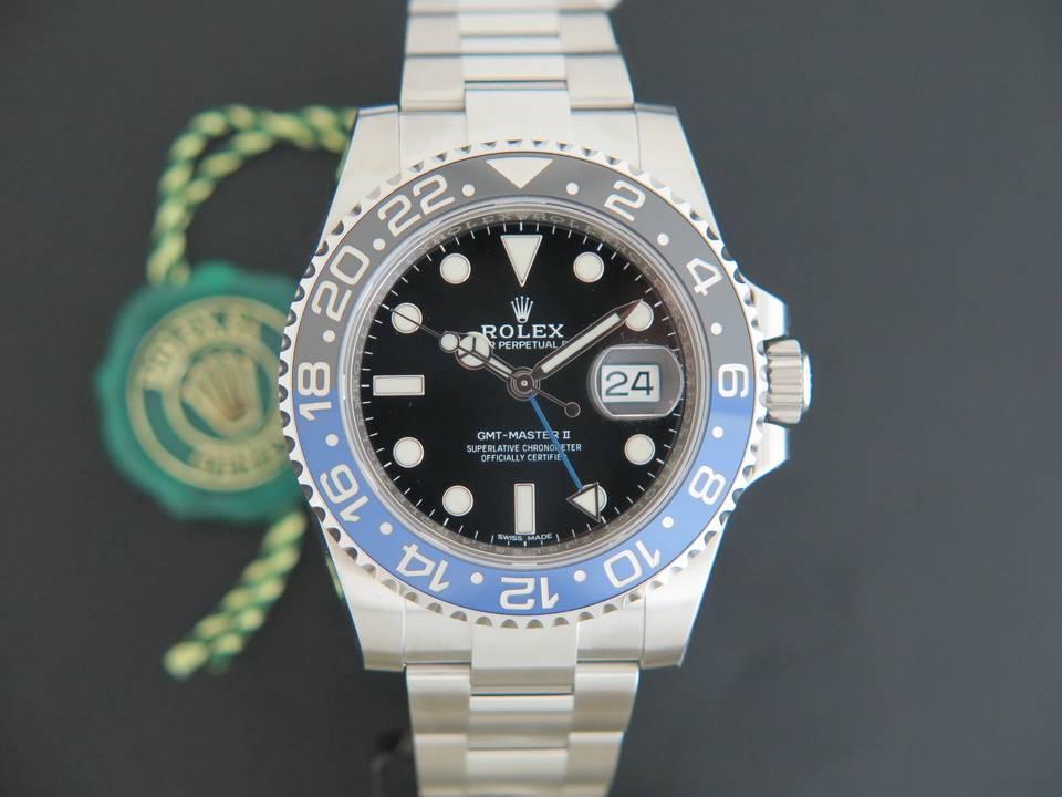 Rolex  Rolex GMT-Master II BLNR NEW 116710BLNR