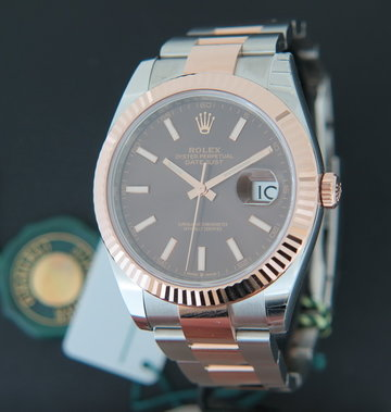 Rolex  Datejust 41 Everosegold/Steel NEW 126331