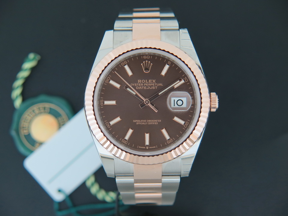 Rolex  Rolex Datejust 41 Everosegold/Steel NEW 126331