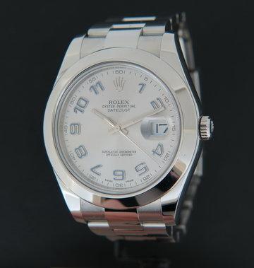 Rolex  Datejust II Rhodium 116300