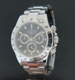 Rolex  Daytona Black Dial 116520  V-Serial