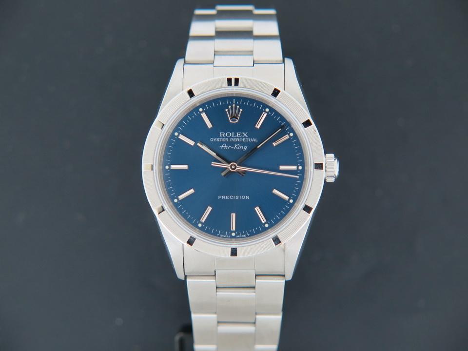 Rolex  Rolex Air-King Blue Dial 14010
