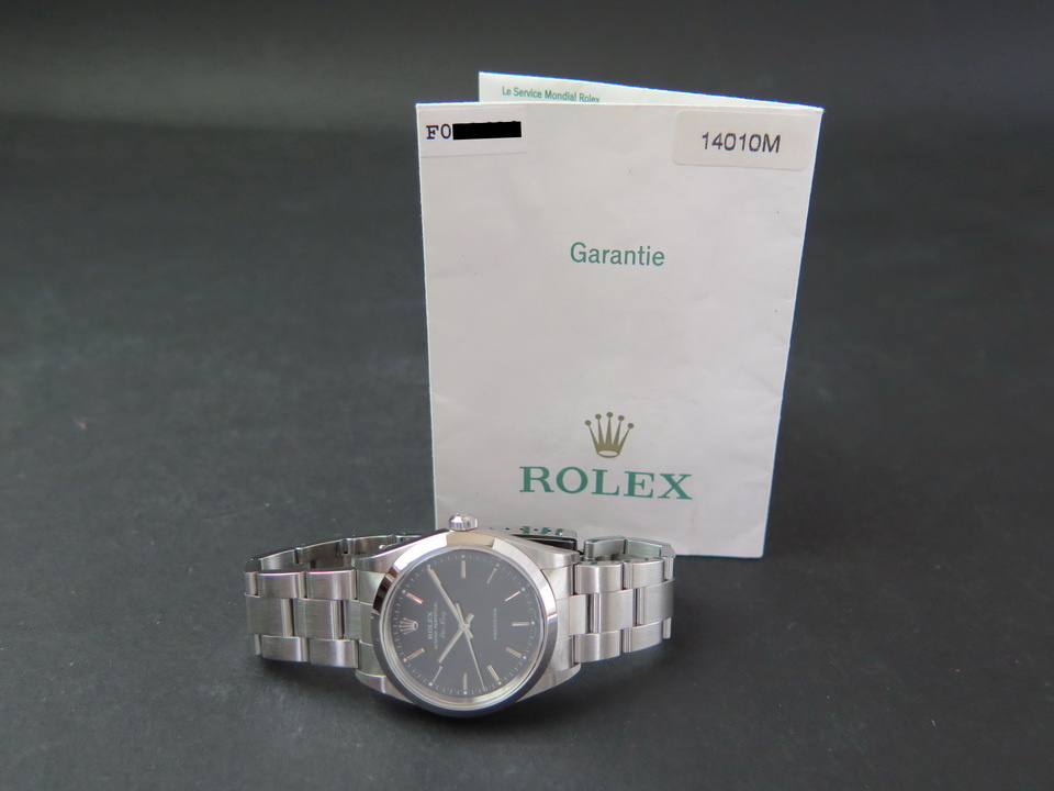 Rolex  Rolex Air-King Black Dial 14000/14010M