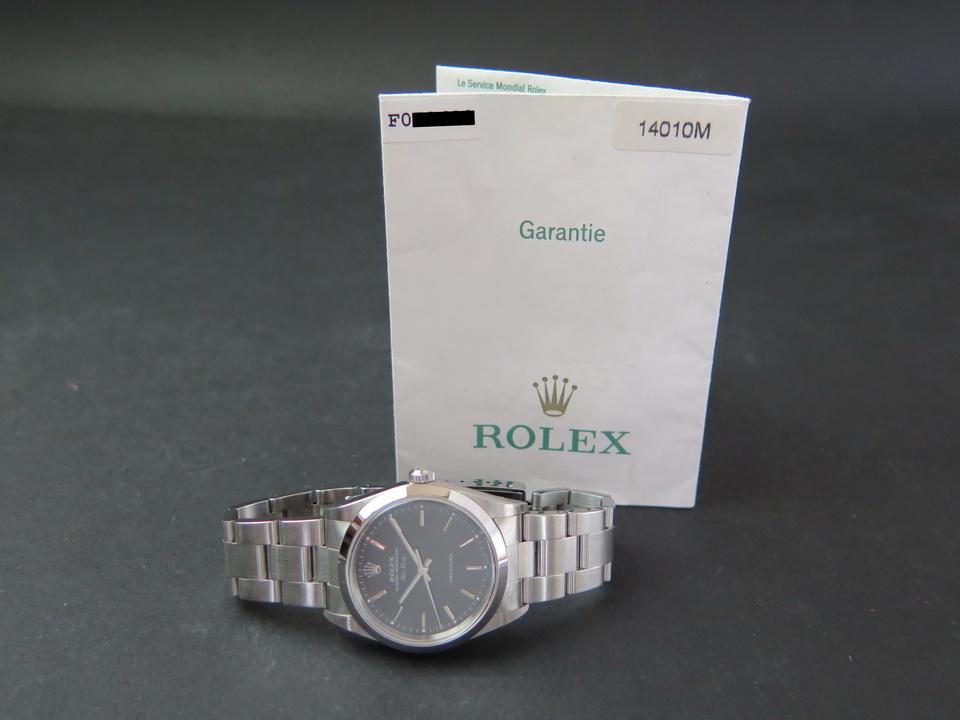 Rolex  Rolex Air-King Black Dial 14000/14010M