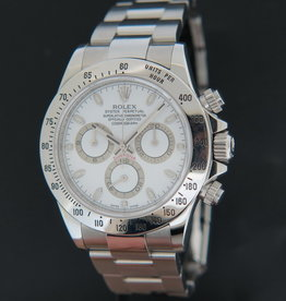Rolex  Daytona White Dial 116520  V-Serial