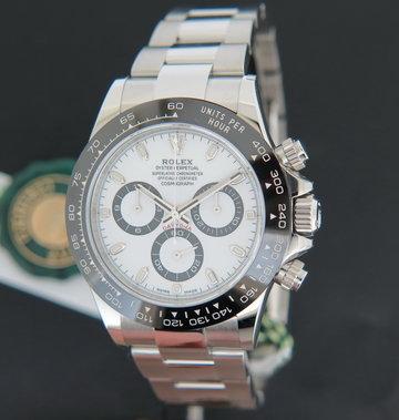 Rolex  Daytona 116500LN White Dial  NEW