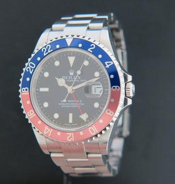 Rolex  GMT-Master II 16710  ''Pepsi'' D-Serial