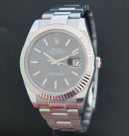 Rolex  Datejust 41 Dark Rhodium  126334