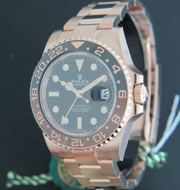 Rolex  GMT-Master II EVEROSEGOLD NEW 126715CHNR