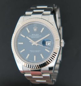 Rolex  Datejust 41 Blue Dial 126334 NEW