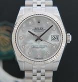 Rolex  Rolex Datejust NEW 178274  MOP Diamond Dial