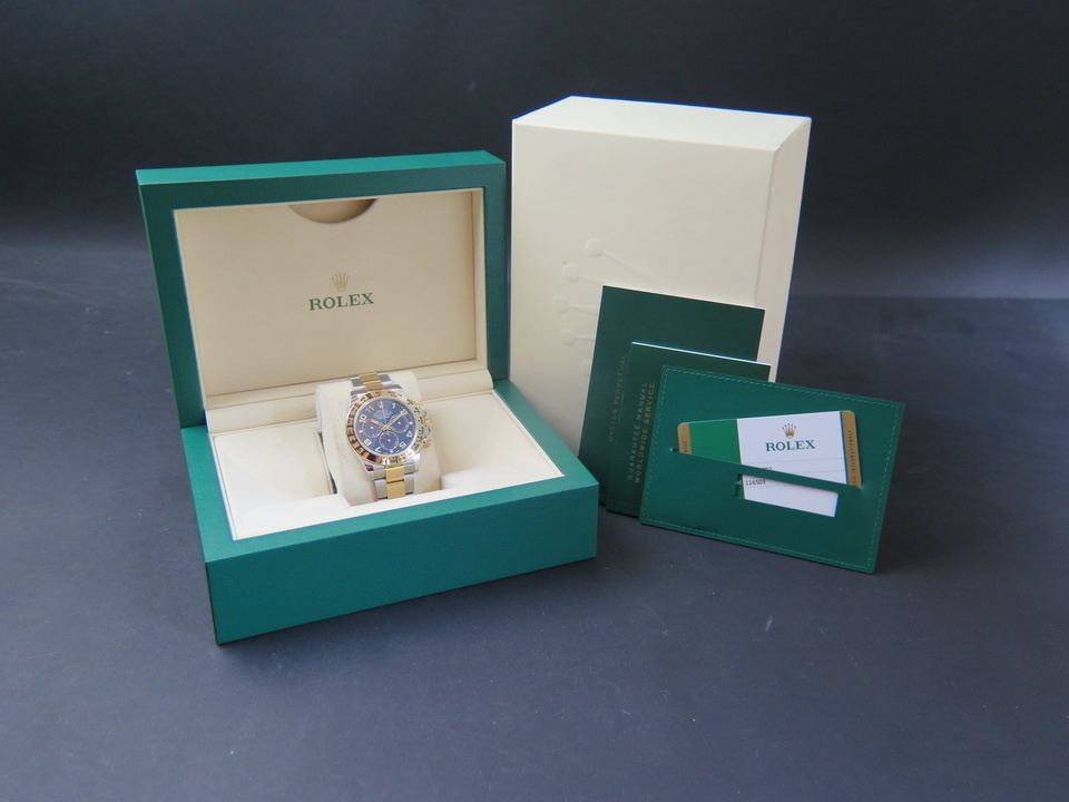 Rolex  Rolex Daytona Gold/Steel  NEW 116503   Blue Dial